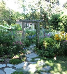 entry to cottage garden
