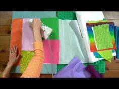 Stash Busters with Frieda Anderson, Fabric Fuser
