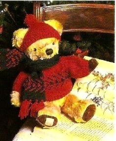 Build A Bear Sweater Pattern To Knit 91
