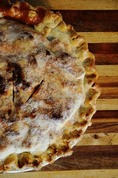 Confessions of the Cookaholic: Homemade Apple Pie