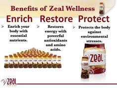 Zeal Wellness Drink Benefits