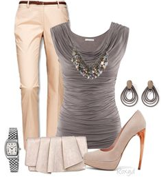 """""""Office outfit"""" by roxyd on Polyvore"""