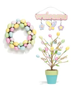 Pastel #decor for every room. #Easter