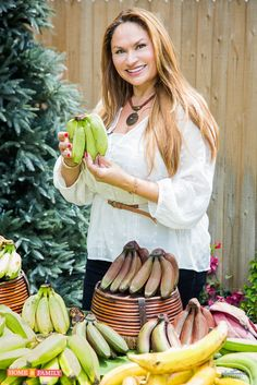 FOODIE GARDENERS! Let's grow some bananas, even if they won't fruit in your area, the foliage is gorgeous! Watch Home & Family Friday, and learn how.