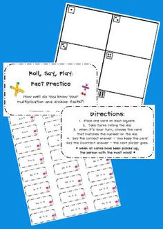Fact Practice: Easy for You, Fun for Them!