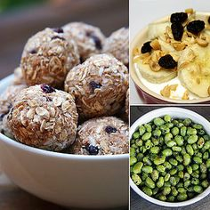 High-Protein Snacks - good for after a workout or early am