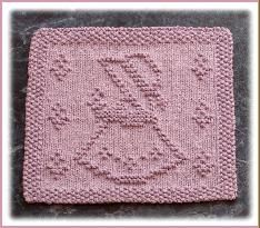 3. Adorable Knitting Pattern....this pattern reminds me of a quilt my grandmother made for me.  Such memories.  I wish I still had it.......