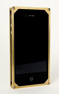 Brass iPhone case...
