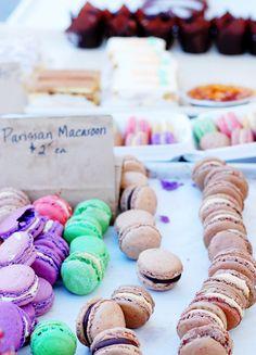 Farmers' market macarons
