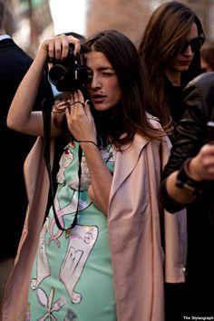 Milan Fashion Week Eleonora Carisi Street Style Jou Jou Villeroy