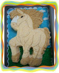 Galloping Horse cake