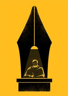 The Writer - Tang Yau Hoong #Illustration