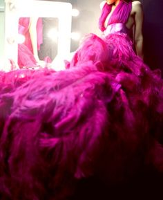 Pink haute couture