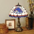 Boise State Broncos Stained Glass Table Lamp