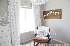 Girl Nursery - Blooming Homestead