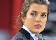charlotte casiraghi sure looks like her mama, princess caroline of monaco - she's the new face of Gucci - and wow, what a face!