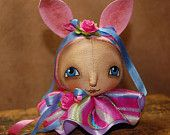 spring bunny ornament~available on etsy~http://www.etsy.com/shop/robinseeber
