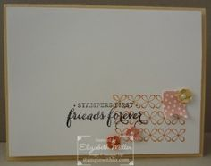 Stampin Up Banner Blast and You're Lovely Saleabration stamp sets card