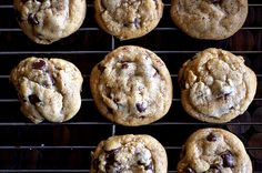 Crispy Chewy Chocolate Chip Cookies from Smitten Kitchen...one of my go-to choclate chip cookie recipes