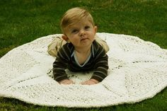 Sand Dollar Baby Blanket pattern on Craftsy.com
