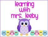 Learning with Mrs. Leeby