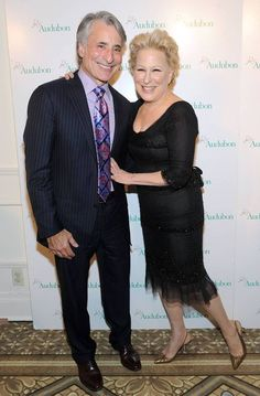 Bette Midler with President/CEO David Yarnold.