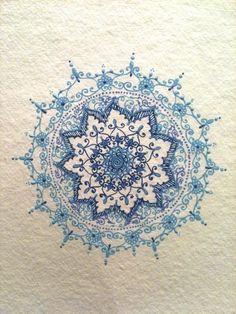 tattoo ideas, henna designs, pattern, henna tattoos, art, mandalas, shoulder tattoos, blues, mandala tattoo