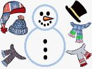 Snowman Dress Up Activity
