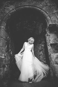 shona, bridal portrait   edinburgh, scotland