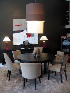 salle manger chaises tapis on pinterest. Black Bedroom Furniture Sets. Home Design Ideas