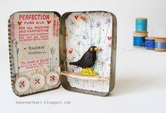 tin boxes, hen teeth, artworks, singing, altoid tin