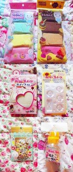 Fuwa Fuwa mousse clay and supplies from http://www.modes4u.com/en/cute/c185_DIY-Clay-Sets.html #diy #clay #crafts