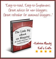 Book Review: The Big Little E-Book on Blogging, by Cendrine Marrouat