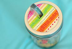 [ DIY: Spice Jar Crafts ] You probably already use Mason jars to keep food fresh in the pantry. So, why not add a convenient spout for shaking and storing spice medleys, flavored sugars and other kitchen concoctions? ~ from earth911.com idea, masons, craft, spout, easi thing, 40 easi, mason jars, diy, salts