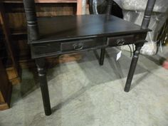 "Iron Detail Desk  IT009 - $252  41.5""W x 29.5""D x 30""H  #NadeauNashville"