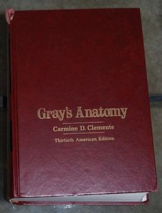 Gray's Anatomy Hardcover #medical #book