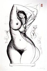 Brett Whiteleys' nudes