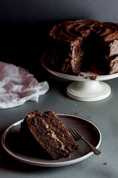 Chocolate Peanut butter cake | simply-delicious.co.za #recipe #baking #food