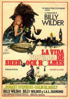 Cartel de la película de Billy Wilder sobre Sherlock Holmes