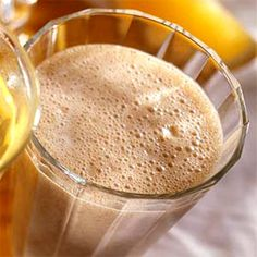 Creamy Date Shake    Dates add a distinctive sweet flavor—and some fiber—to this calcium-packed shake.