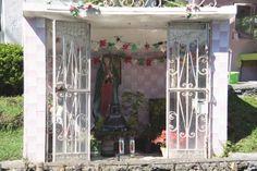 Wayside Shrine near Ixtapalapa, Mexico