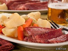 Nothing says St. Patrick's Day like this Classic Corned Beef and Cabbage. And whether you're Irish or not, there's no denying that this is one tasty recipe!   Read more at http://www.mrfood.com/Beef/Classic-Corned-Beef-and-Cabbage#Iqdfq3qUivJ3vMq4.99