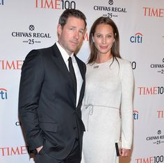 Honoree Christy Turlington Burns and Ed Burns attends the TIME 100 Gala, TIME's 100 most influential people in the world at Jazz at Lincoln Center on April 29, 2014 in New York City. (Kevin Mazur—Getty Images for TIME)