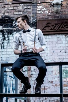It's simple... a man who can pull off a bow tie and suspenders is beyond attractive to me.
