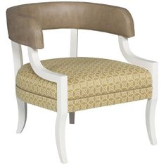 Thom Filicia Home Collection Exposed Wood Chair by Vanguard Furniture