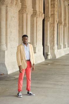 Man with a great color sense #style #mensfashion #color