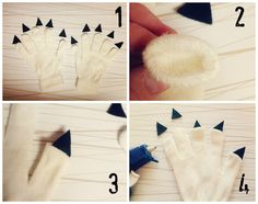 DIY Monster Claws. - thesoutherninstitute.com