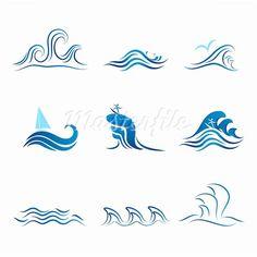 ocean symbol - Google Search