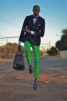 jacket, men style, south africa, men fashion, style men, gentleman style, color pants, green pants, bold colors