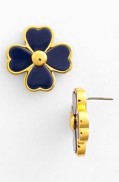 Tory Burch 'Shawn' Stud Earrings available at #Nordstrom